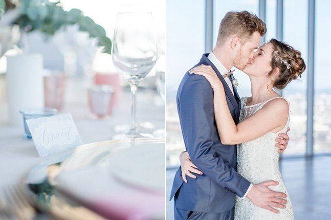 Über den Wolken - Hochzeitsideen in Pantone Farben 201610