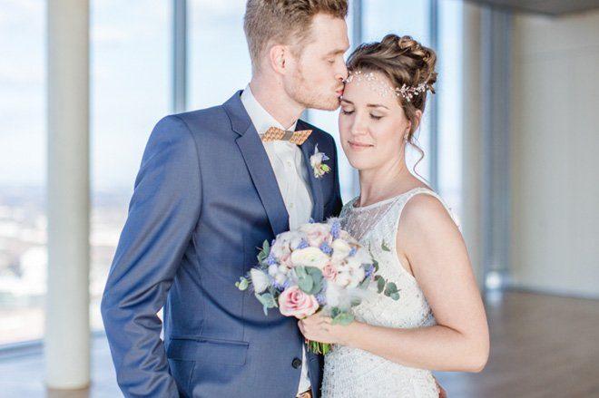 Über den Wolken - Hochzeitsideen in Pantone Farben 201616