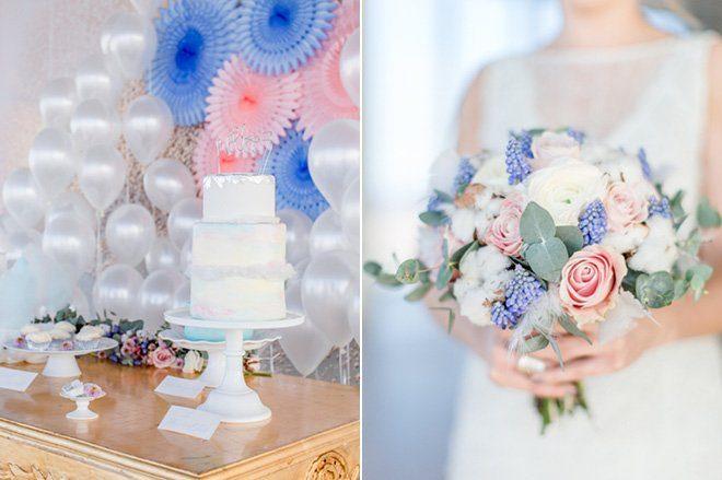 Über den Wolken - Hochzeitsideen in Pantone Farben 201620
