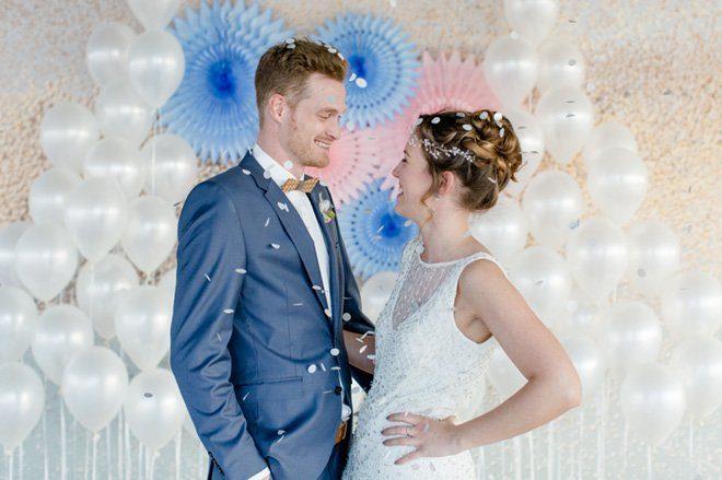 Über den Wolken - Hochzeitsideen in Pantone Farben 201621