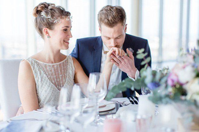 Über den Wolken - Hochzeitsideen in Pantone Farben 20166