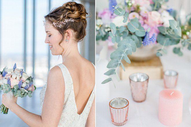 Über den Wolken - Hochzeitsideen in Pantone Farben 20168