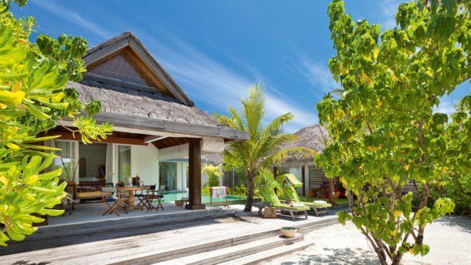 Flitterwochen Hotel Malediven Anantara Naladhu