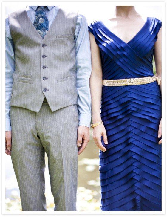 Blau Blau Blau ist alles was ich habe – eine blaue Hochzeit