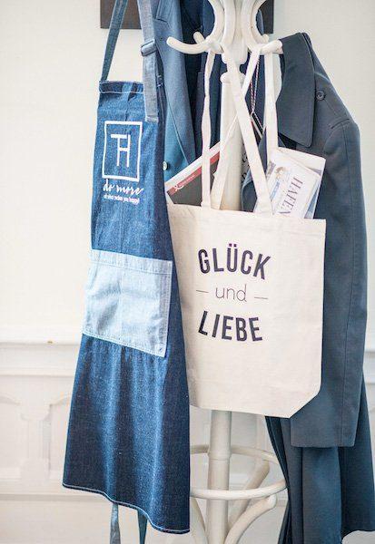 Glück und Liebe Tasche