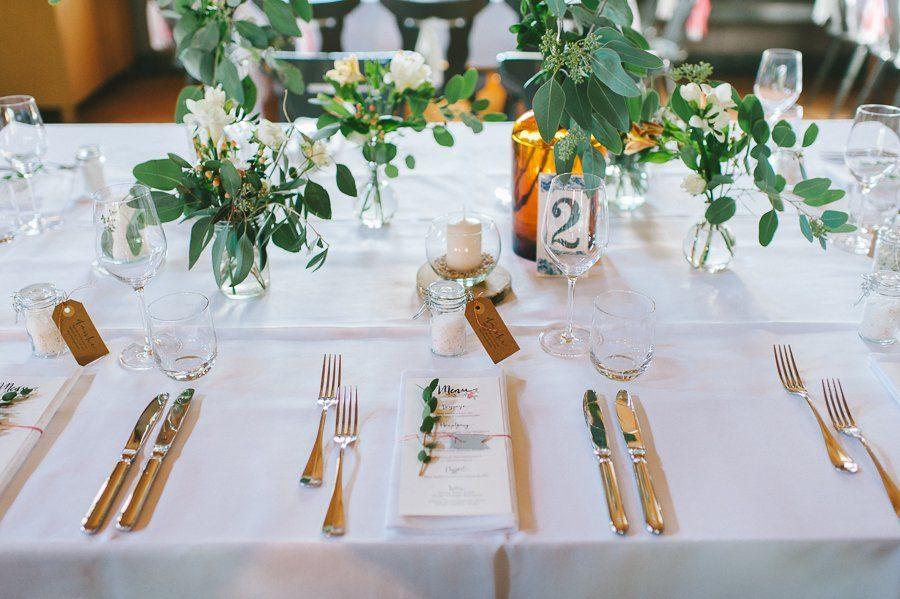 Tischdeko Scheunenhochzeit - Fraeulein K sagt ja