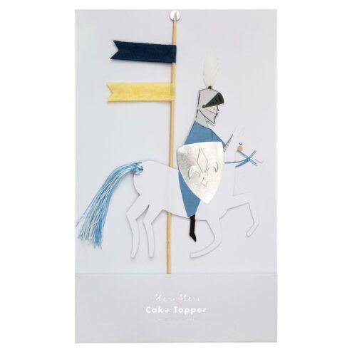 Ritter auf Pferd als Cake Topper