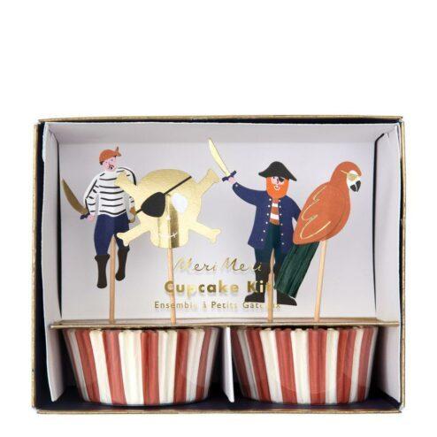 Cupcake Kit Pirat