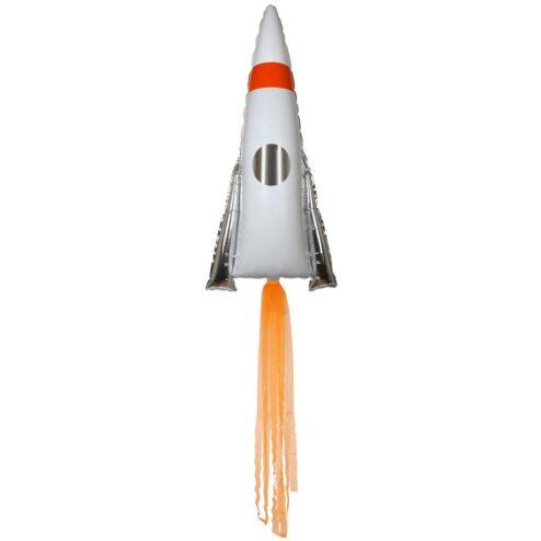 große Rakete als Folienballon