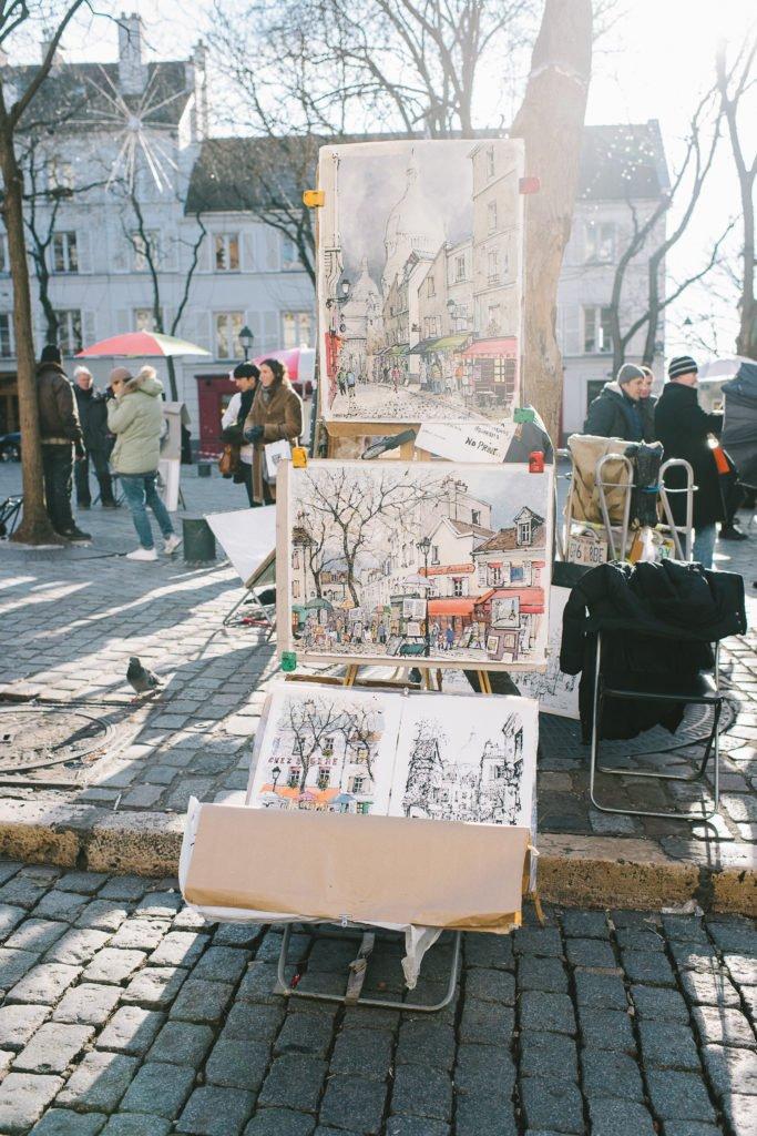 Montmartre Künstler