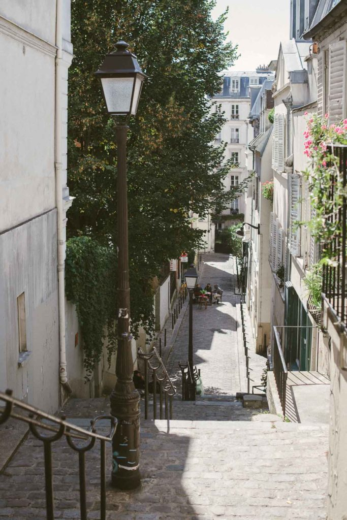 Montmartre Paris Honeymoon