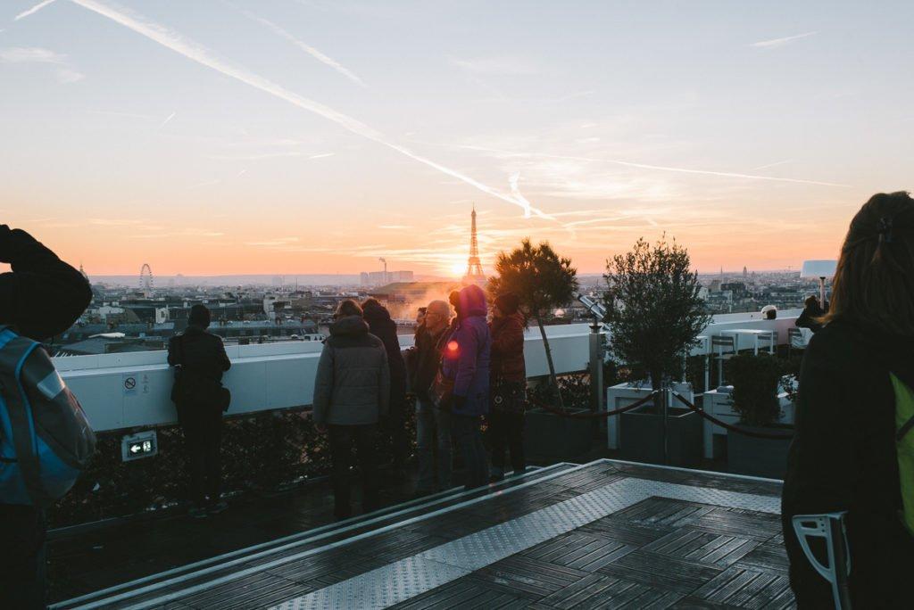 Dachterrasse Lafayette
