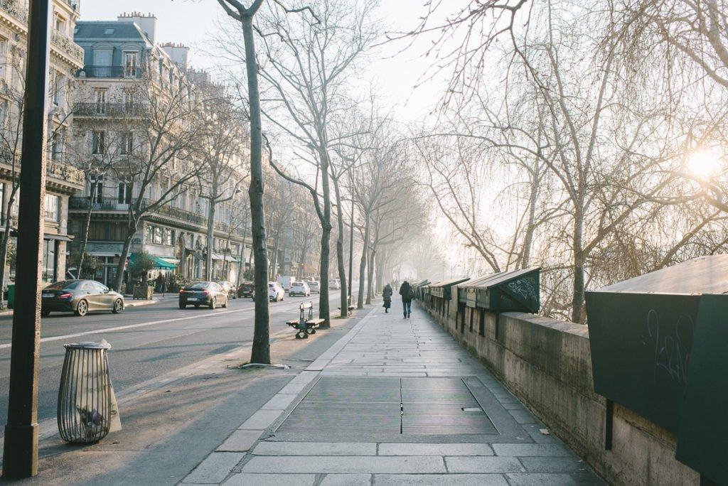 Spaziergang an der Seine