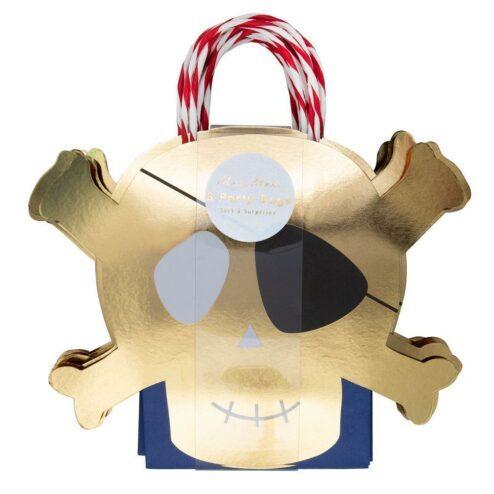 Piraten Party Taschen, 8 Stück