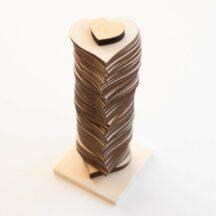 Gaestebuch Holzherzen zum Beschriften