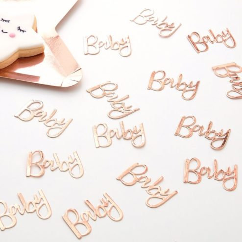 Konfetti Baby roségold