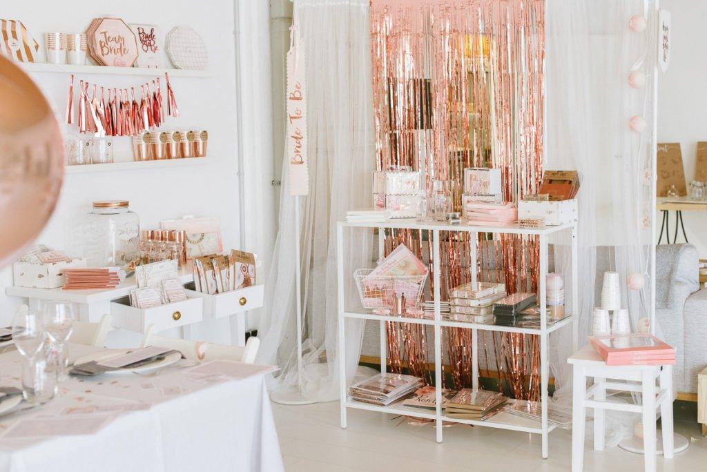 Rosegold Dekoration Hochzeit