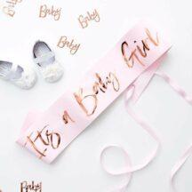 Schaerpe 'It's a Baby Girl'