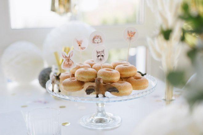 Donuts Kindergeburtstag