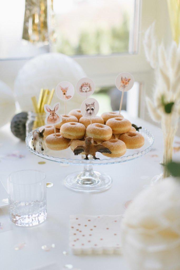 Kindergeburtstag Donut