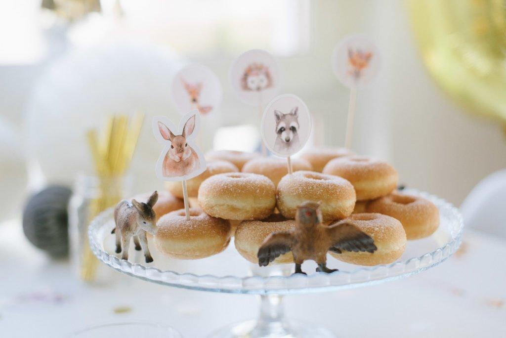 Kindergeburtstag Donuts