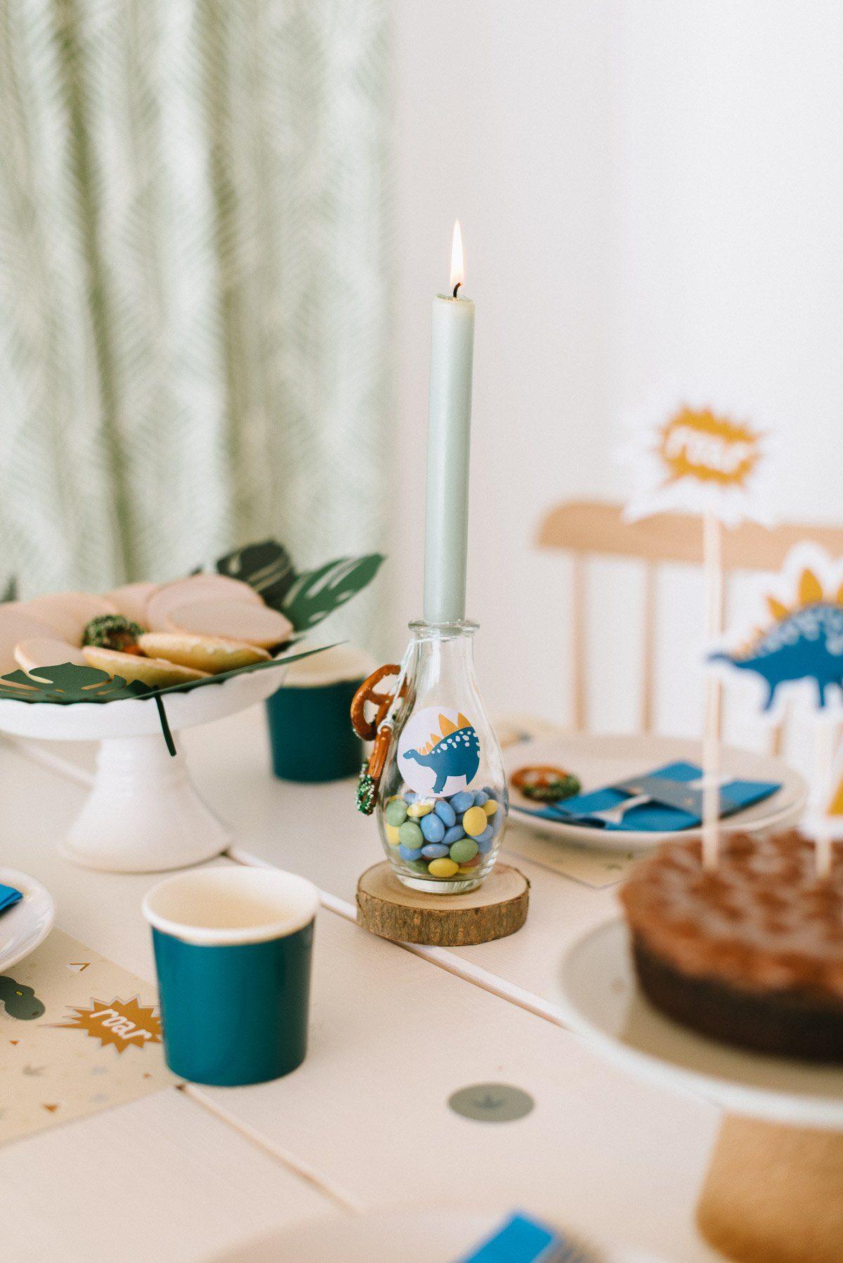 Dekoration Dino Geburtstag Kinder