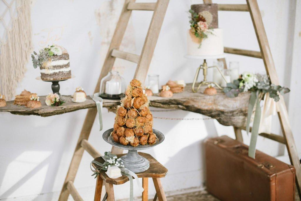 Hochzeitstorte Cafe Kommod
