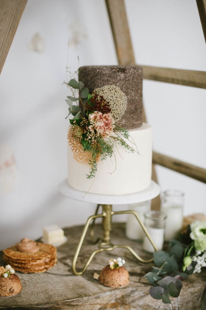 Industrial Hochzeitstorte