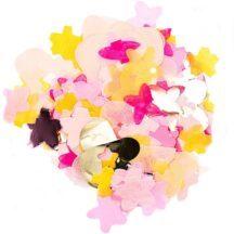 Konfetti rosa Blüten Mix, 20 Gramm