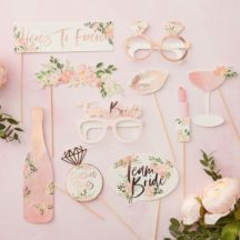 Photobooth Props Floral