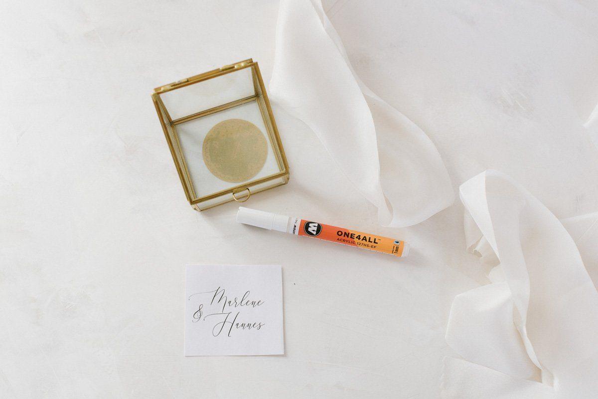 Ringkaestchen Kalligrafie beschriften Anleitung