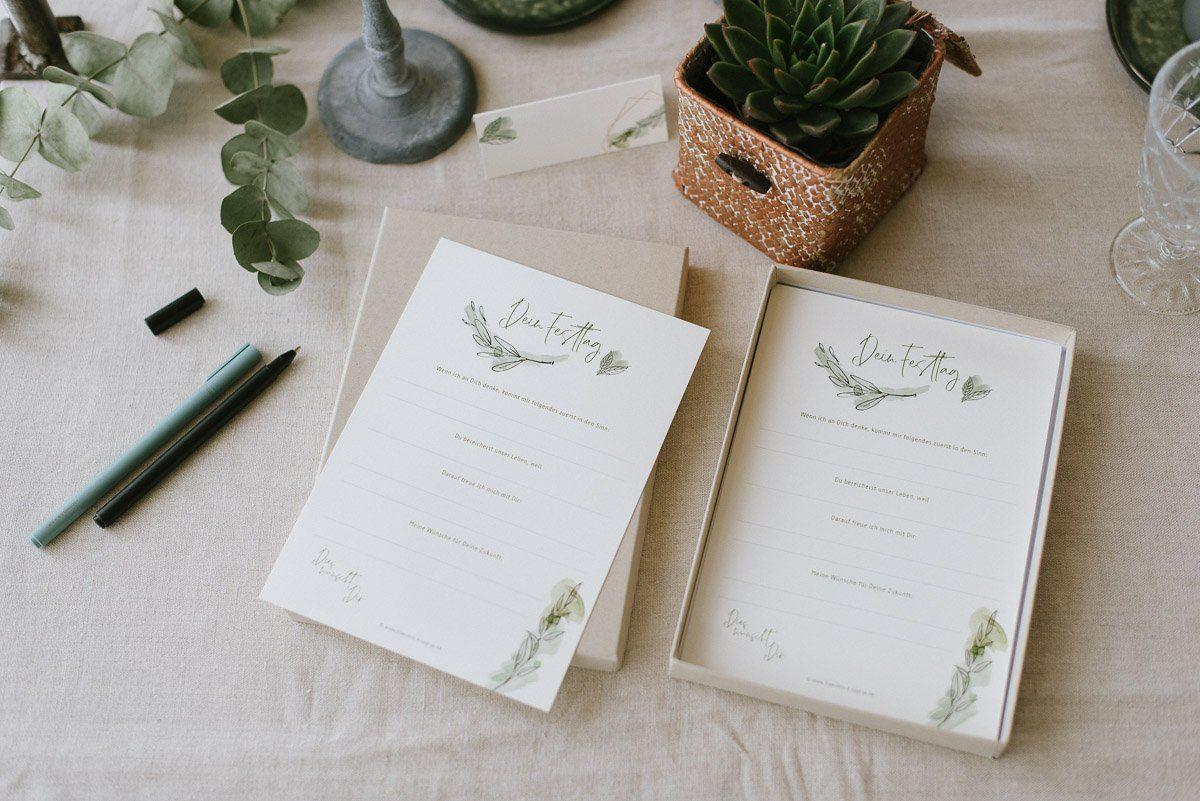 Gästebuch Karten Box für die Kommunion