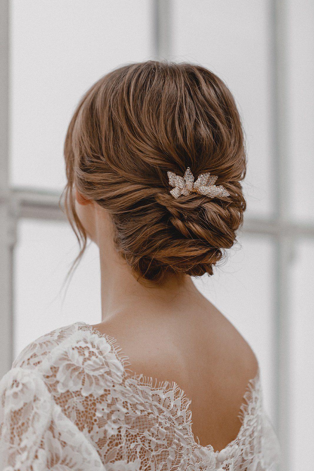 Brautschmuck und Haarschmuck von Juvelan
