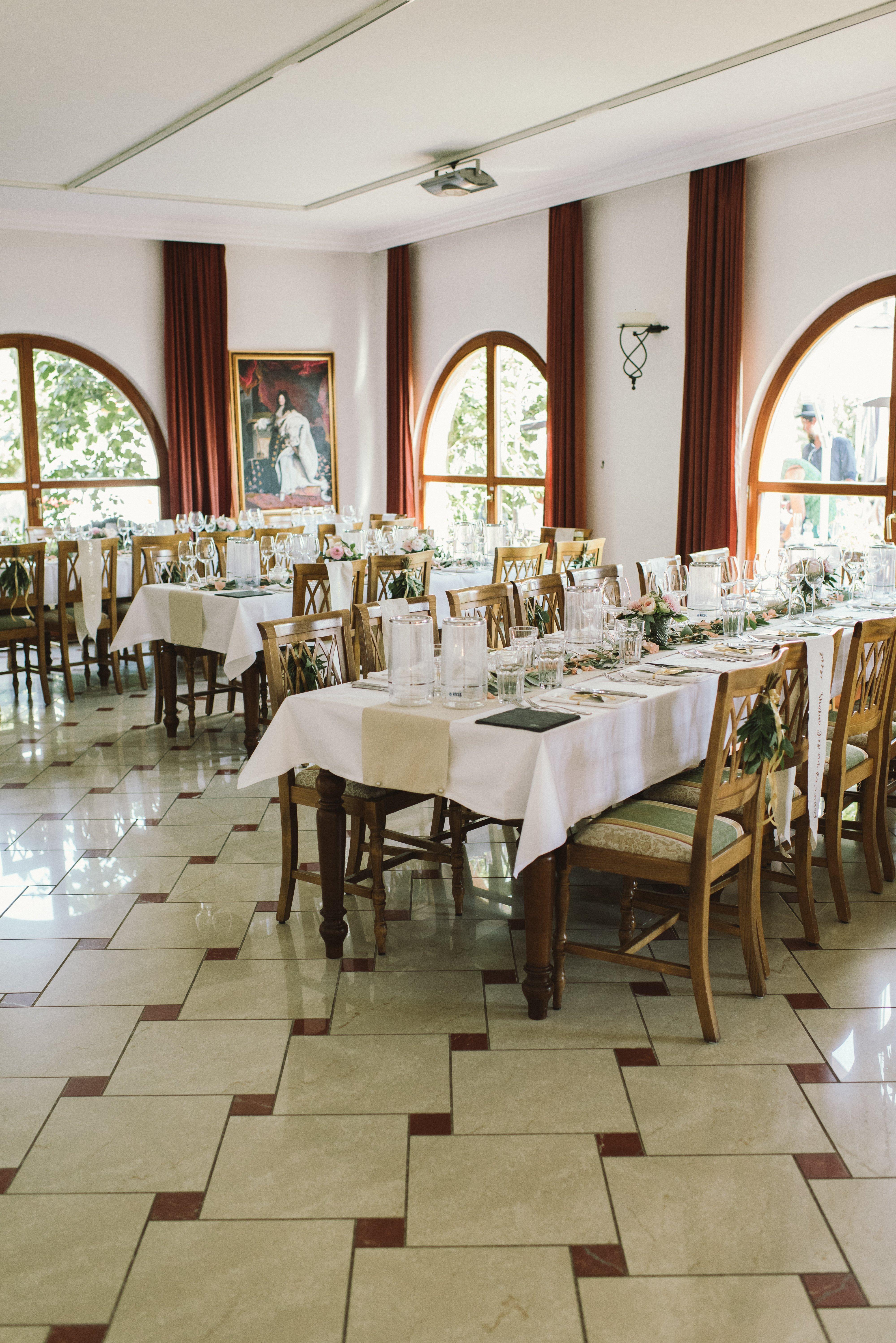 Dekoproblem Fußboden: Wie wird die Hochzeitslocation dekoriert