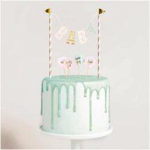 Mini Cake Topper Girlande Baby