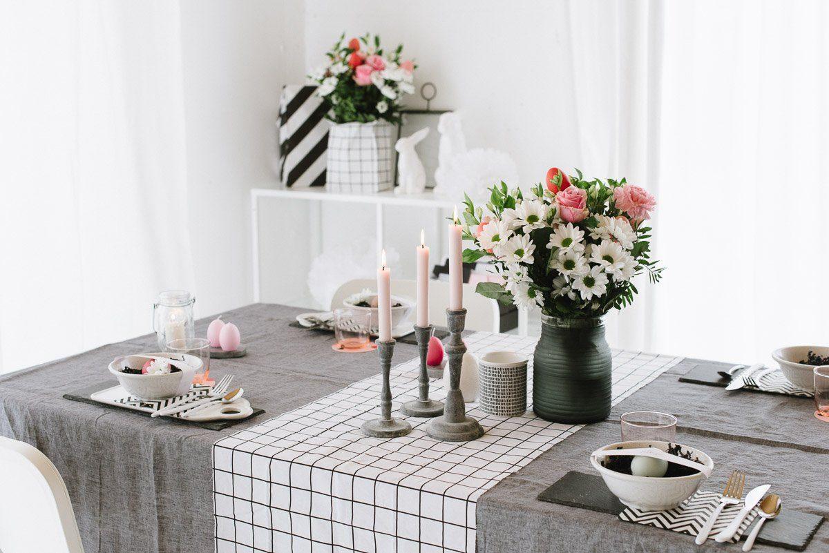 Coole Tischdeko zu Ostern