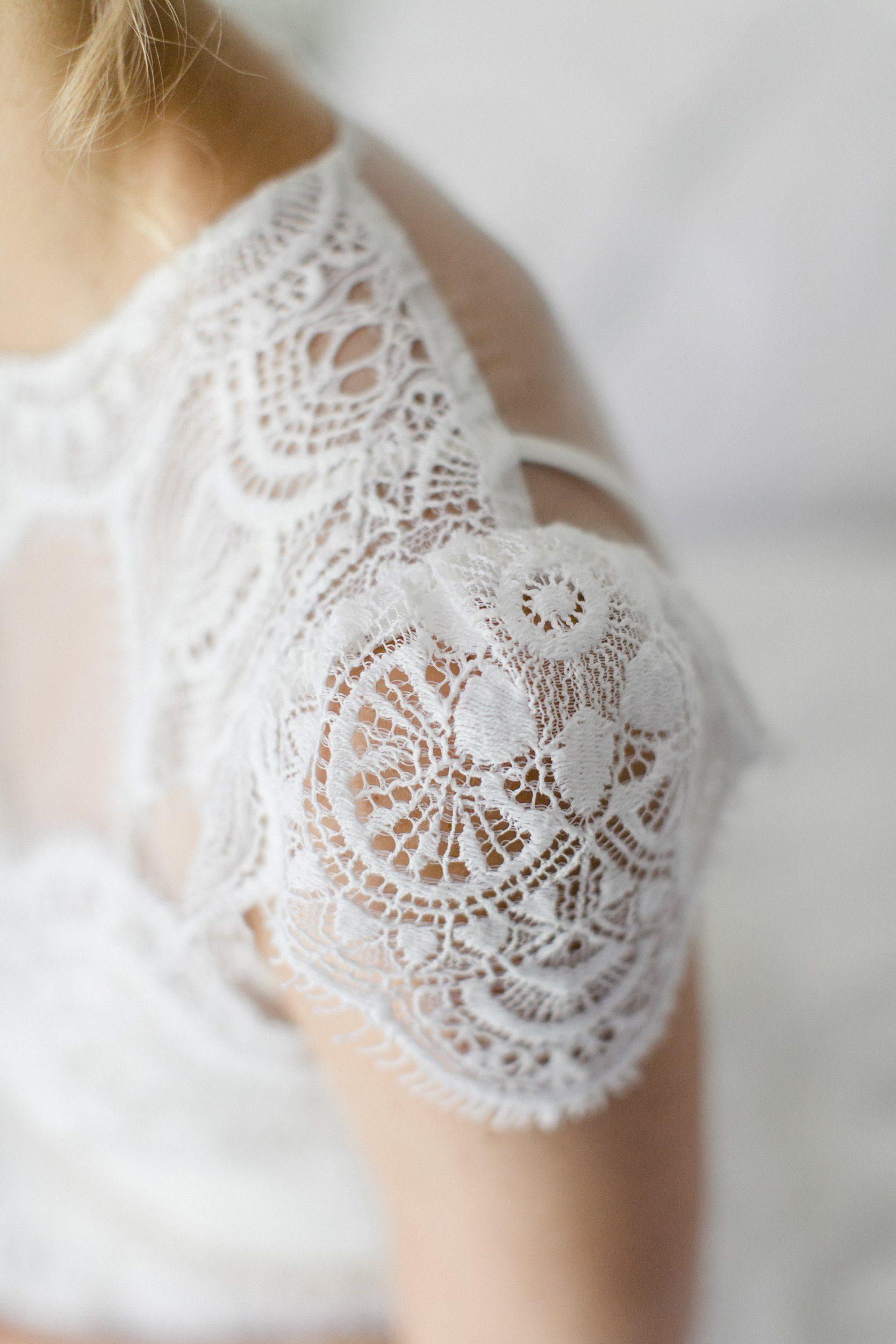 Datail Brautkleid