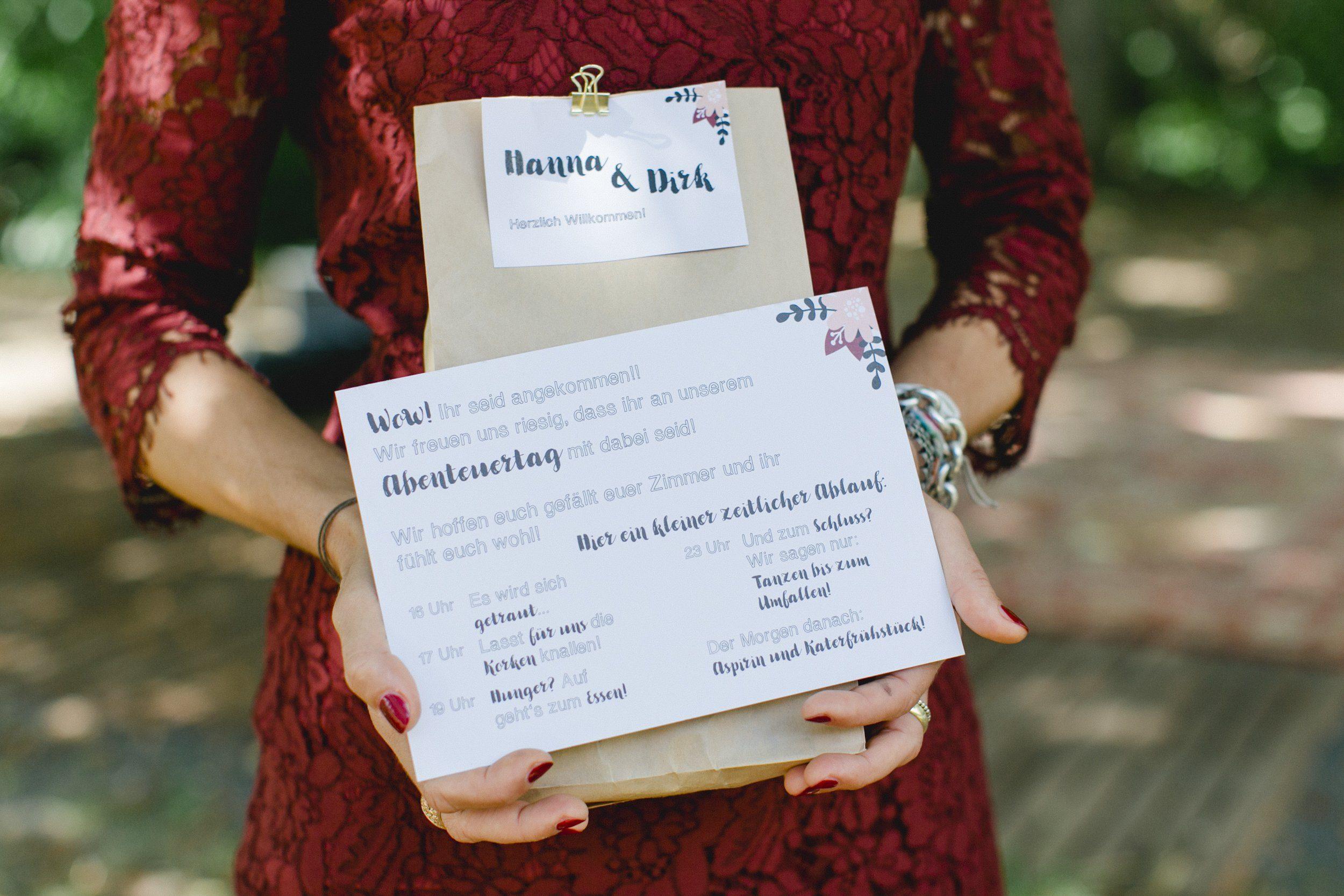 Geschenk für die Brautjungfern