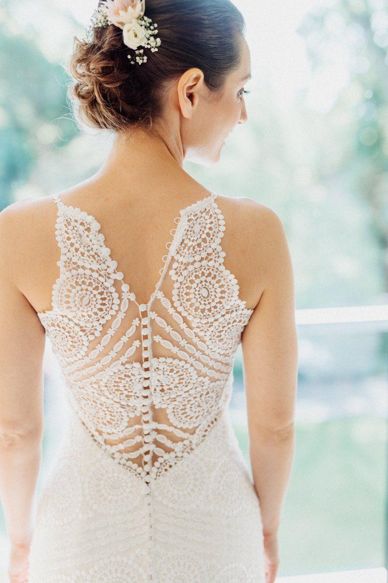 Boho Kleid mit tollem Rückenausschnitt