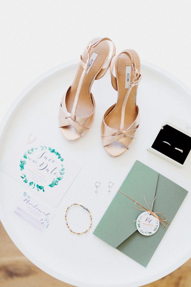 Details am Hochzeitsmorgen