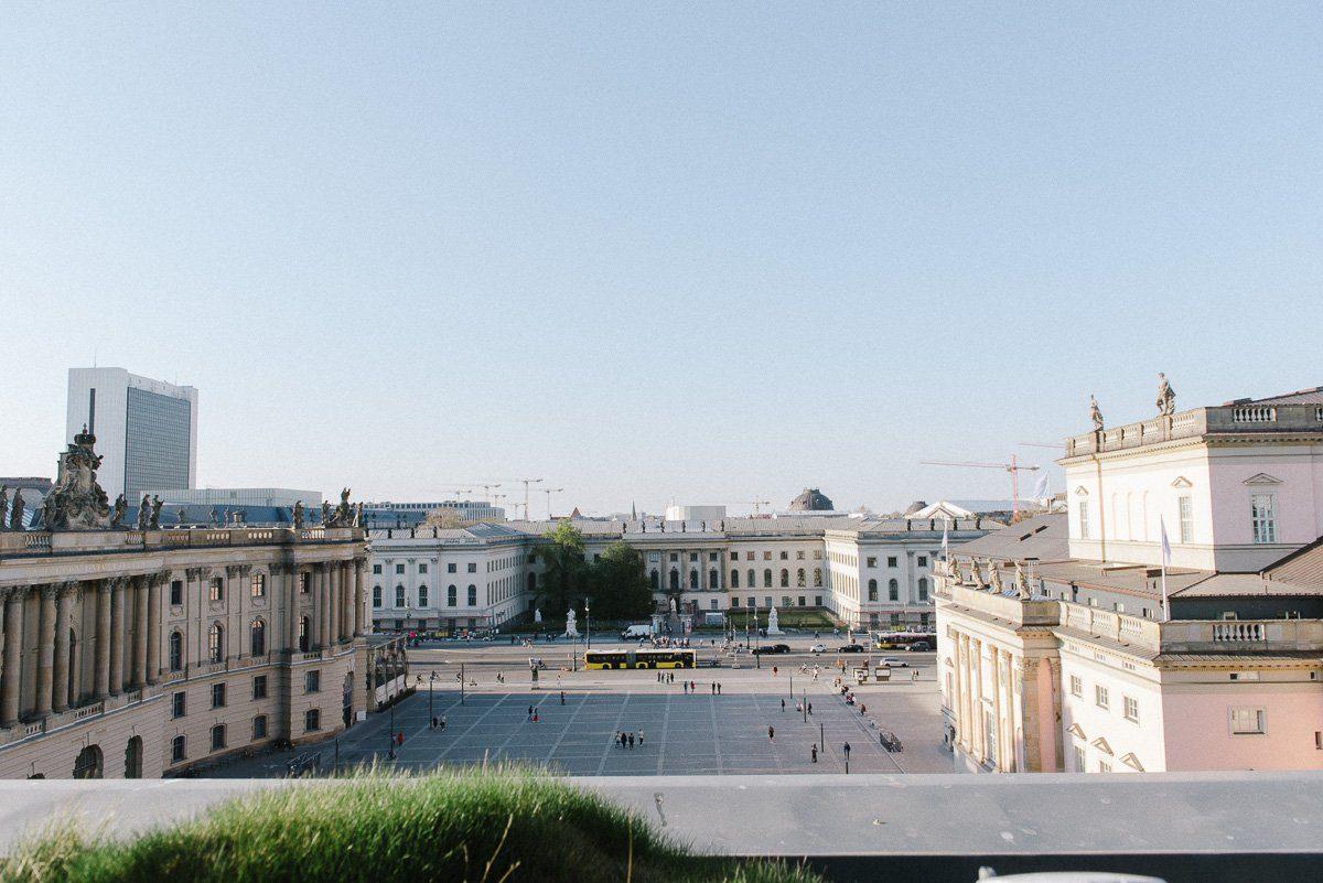 Dachterrasse des Hotel de Rome