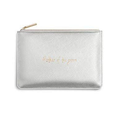 Clutch 'Mother of the groom' metallic silber