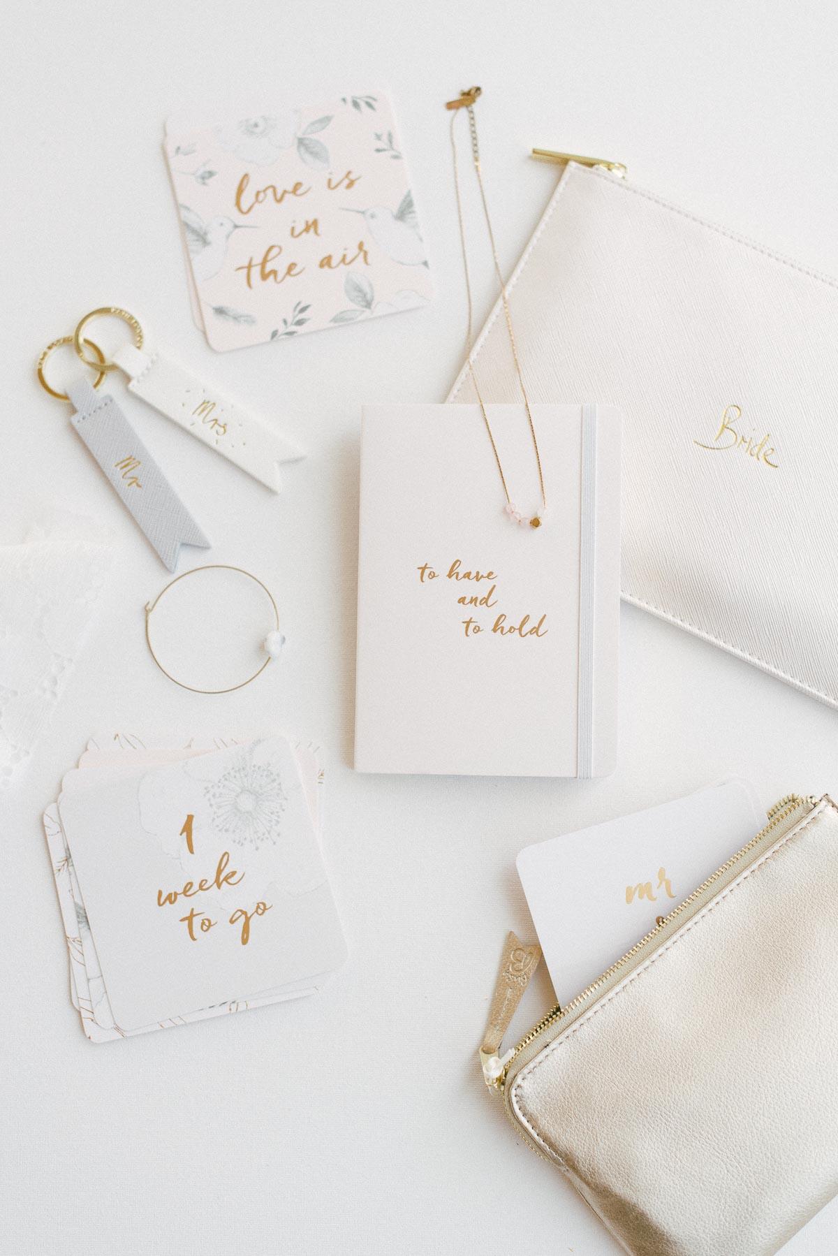 Hübsche Hochzeitsgeschenke für Trauzeugin und Bridesmaids