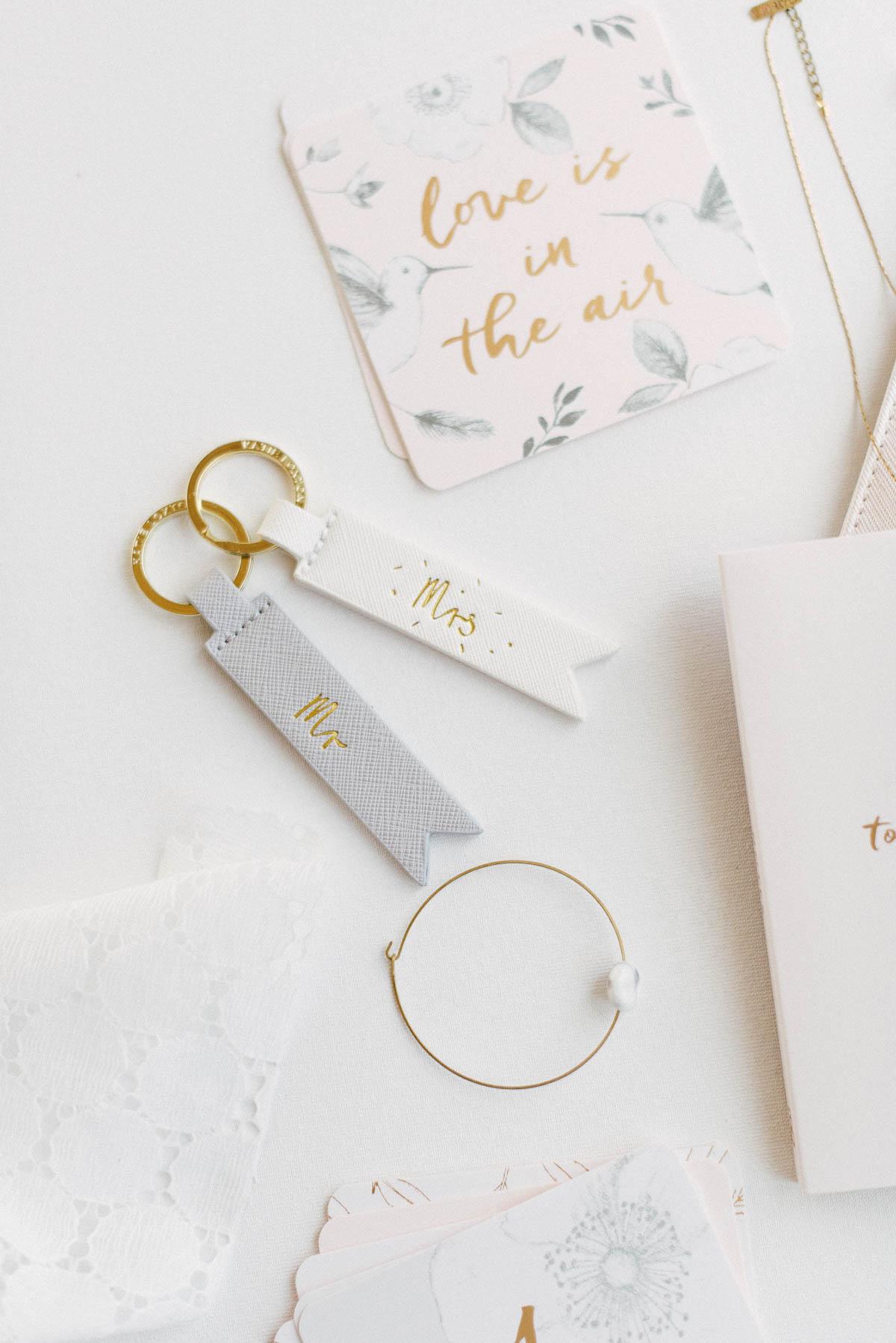 Schlüsselanhänger Mr & Mrs
