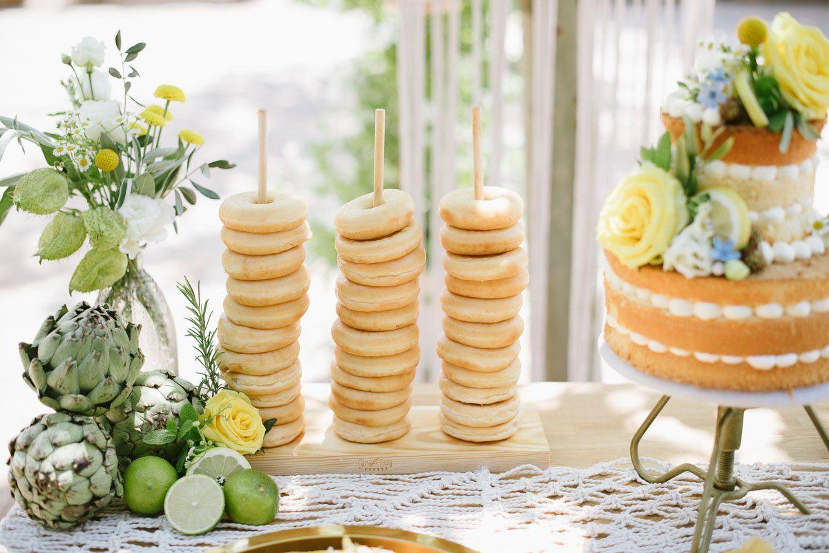Donut Bar bei der Hochzeit