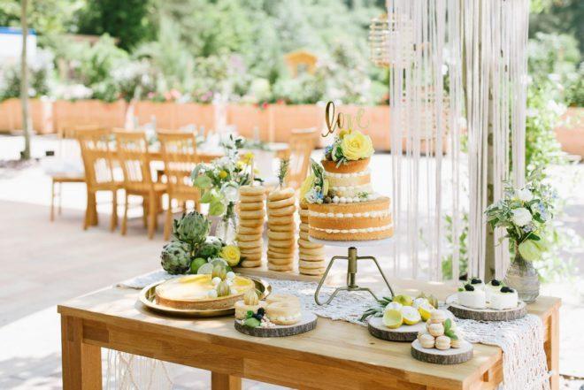 Hochzeitsdeko Summervibes Olive Zitrone Fraeulein K sagt Ja