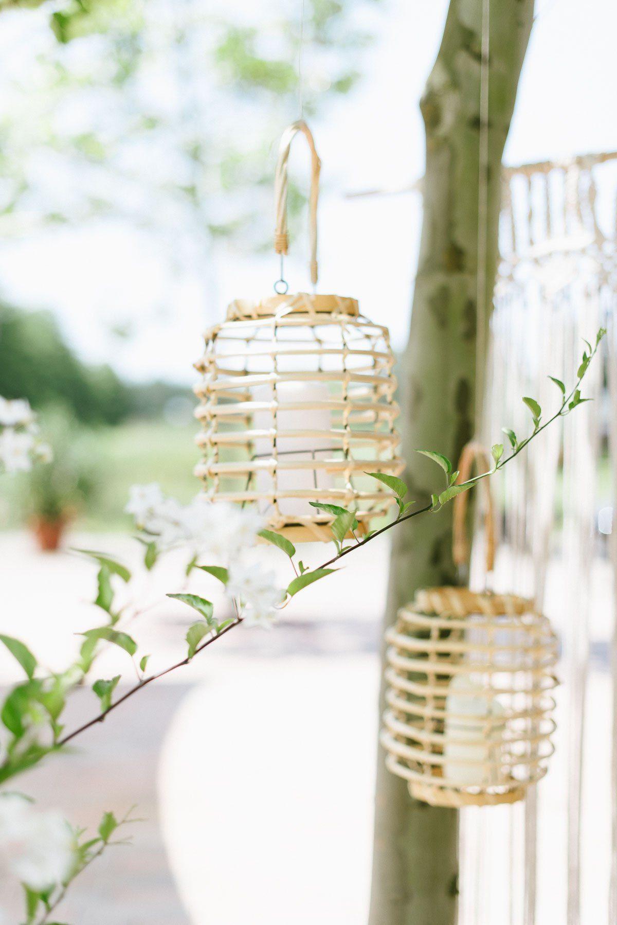 Bambus Laternen