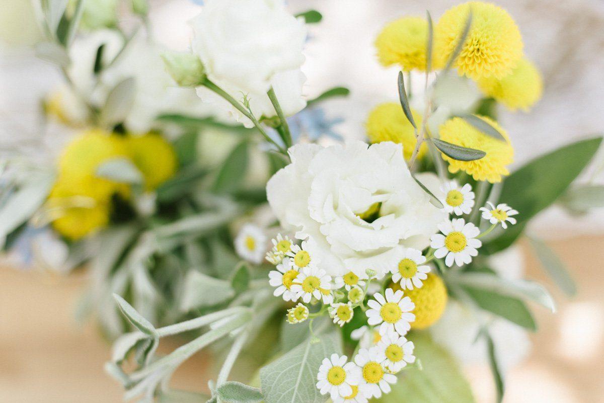 Sommerblumen zur Hochzeit