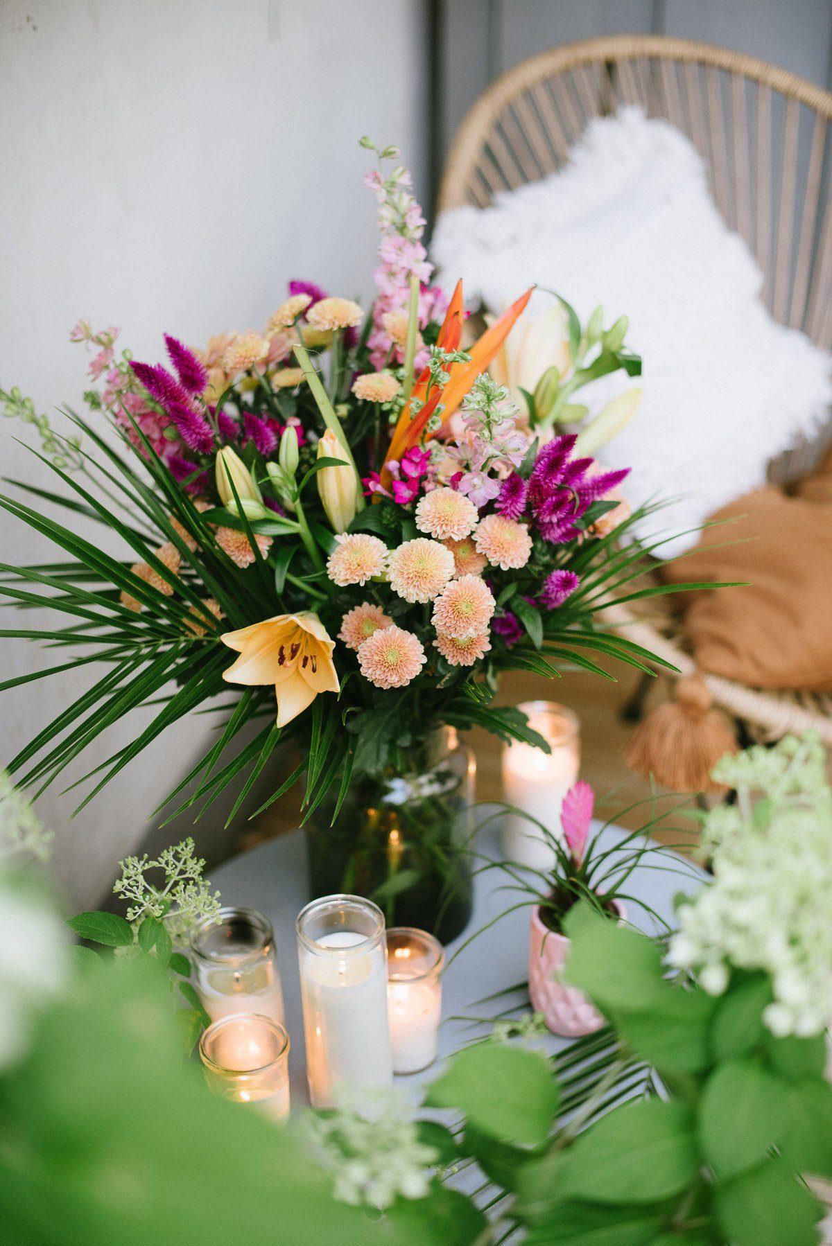 Exotischer Strauß von Blume2000.de