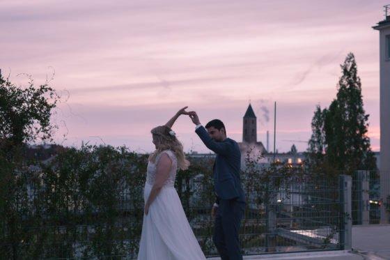 Liebevoll moderne Hochzeit im Loftwerk Nürnberg